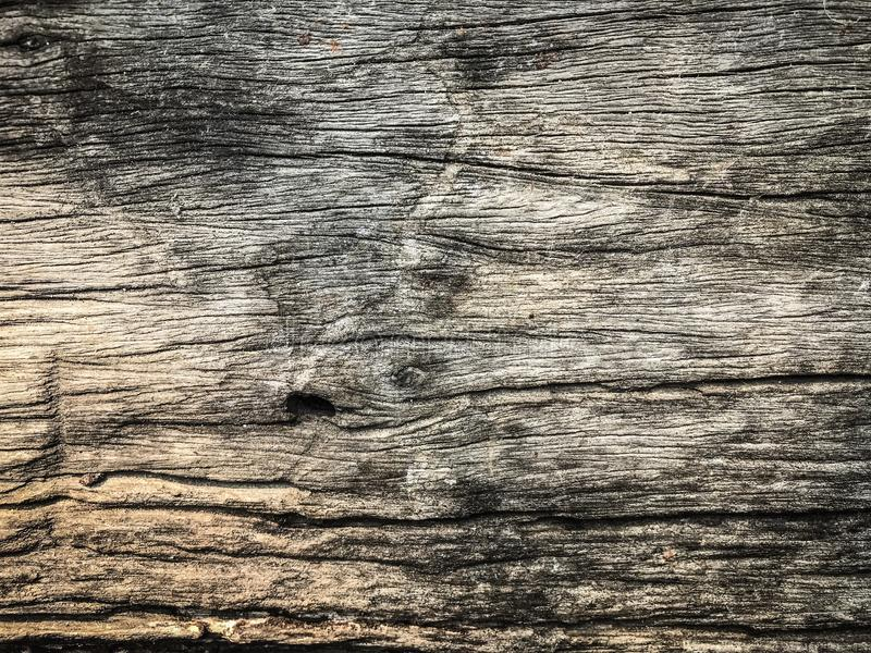 Cracked wood floor royalty free stock photography