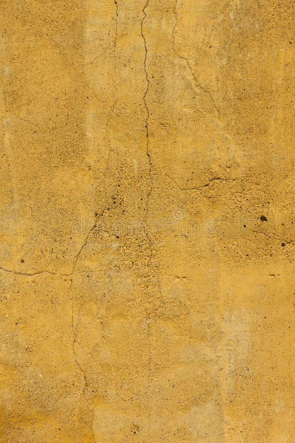 Download Cracked Yellow Concrete Wall Stock Image - Image of frame, decorative: 24734973