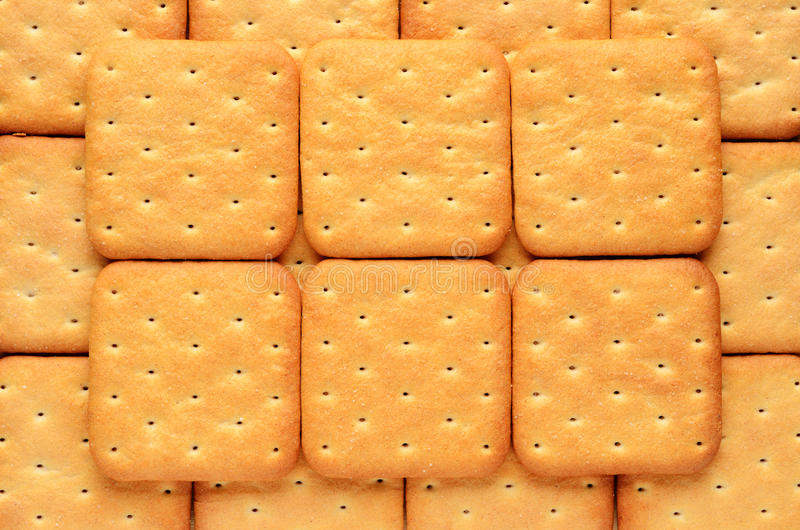 Cracker royalty-vrije stock fotografie