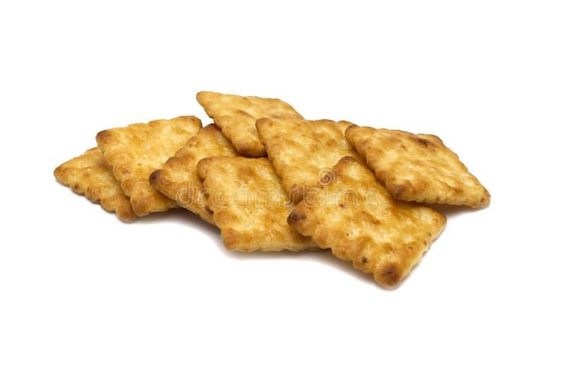 Cracker dei biscotti della noce di cocco e di dolce del burro condito fotografia stock libera da diritti
