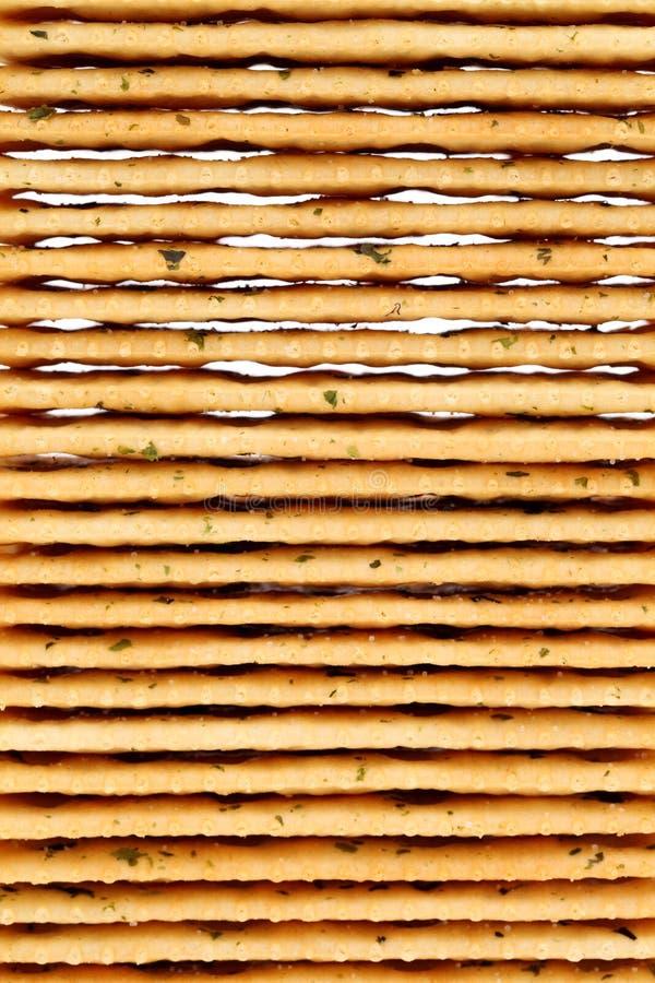 Cracker salati di verdure fotografia stock