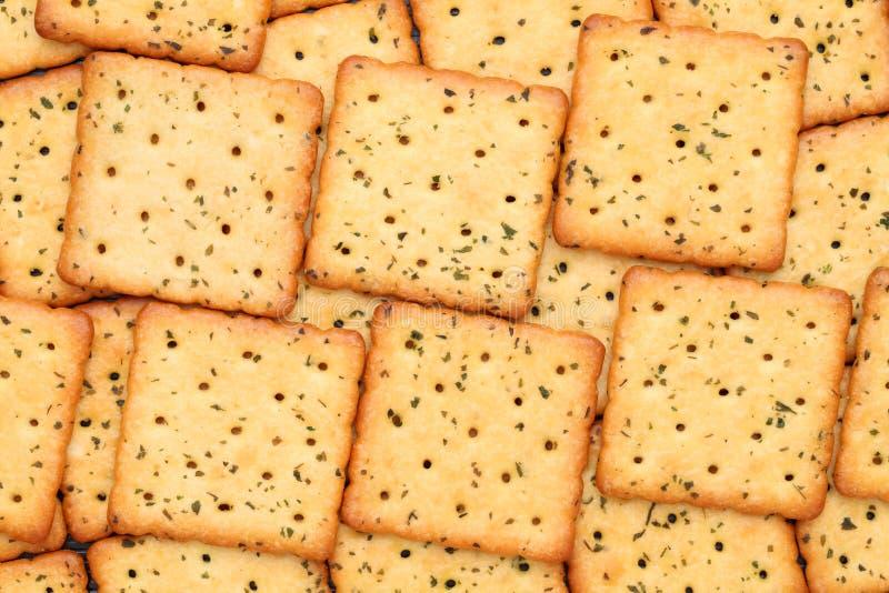 Cracker salati di verdure fotografie stock libere da diritti