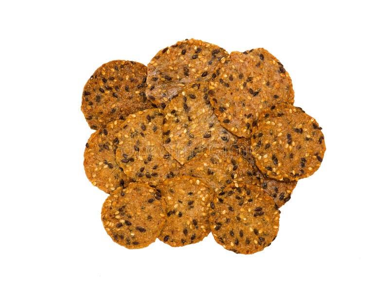 Cracker sani fotografia stock