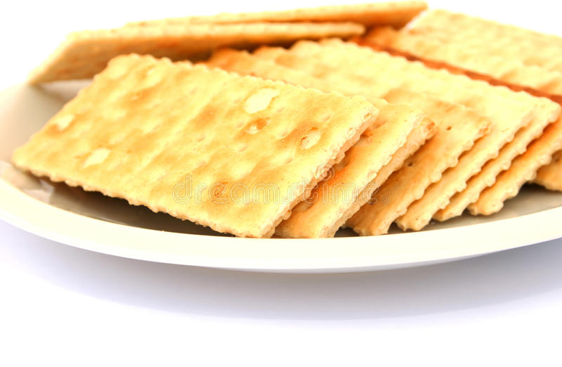 Download Crackers stock image. Image of nutrition, cookies, above - 17936247