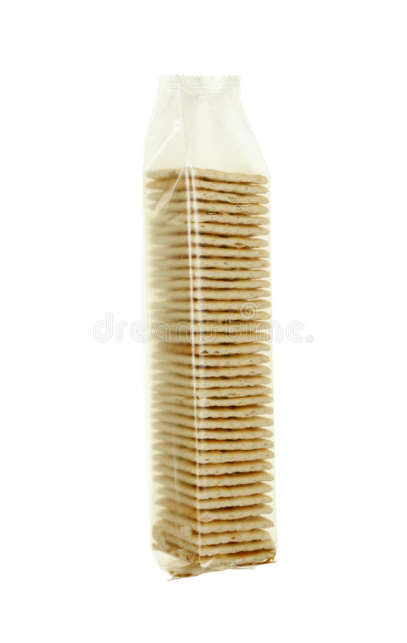 Crackers in Pack stock image