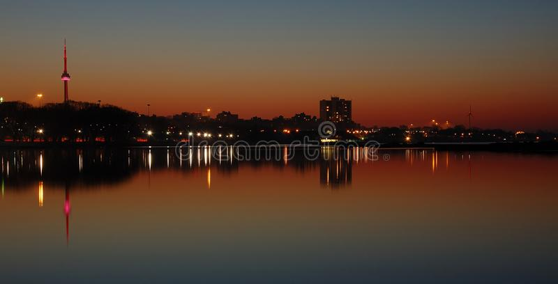 Download Cracking Dawn - Toronto stock image. Image of lights, colourful - 8577797