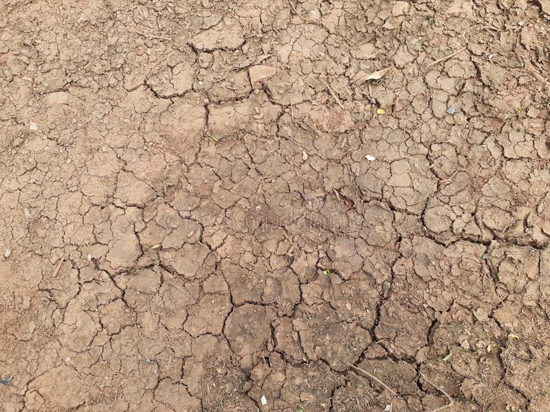 Cracking Dirt Soil Surface royalty free stock images
