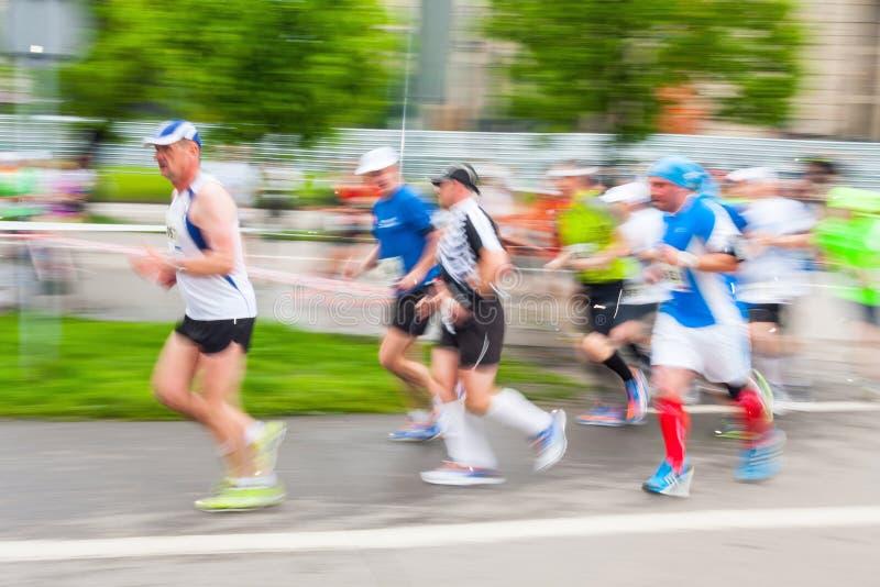 Cracovia-Marathon stockbild