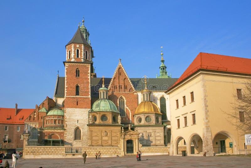 Cracovia medioevale immagini stock