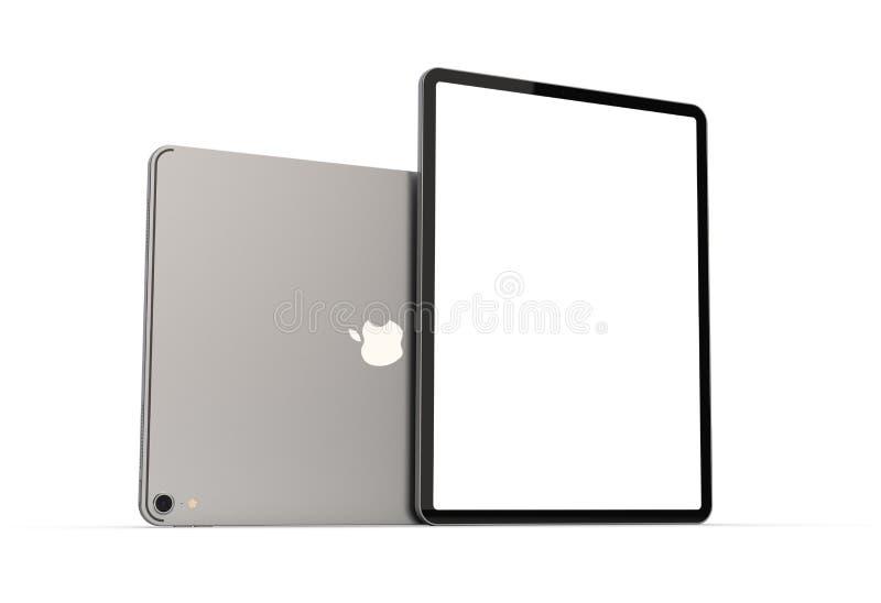 Cracovia, Polonia - 31 de noviembre de 2018: iPad favorable una nueva versión de la tableta de Apple imagen de archivo libre de regalías