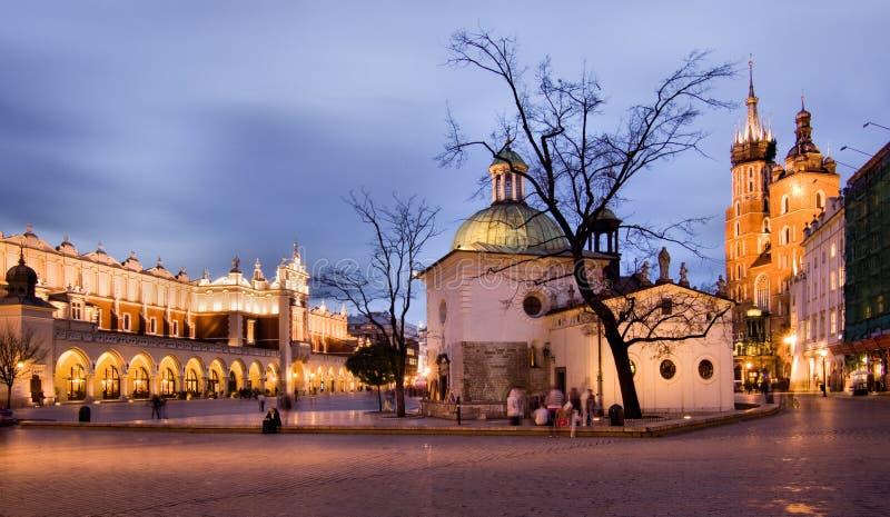 Cracovie (Cracovie) en Pologne photos libres de droits