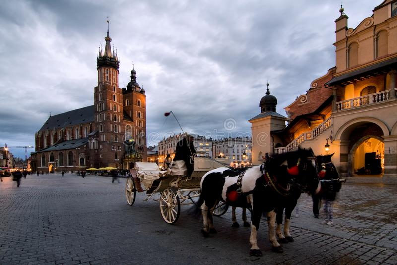 Cracovie (Cracovie) en Pologne photographie stock