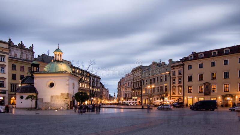 Cracovie (Cracovie) en Pologne images libres de droits