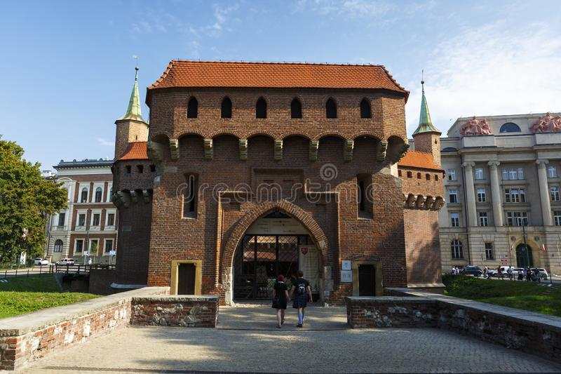 Cracovie, Pologne photographie stock