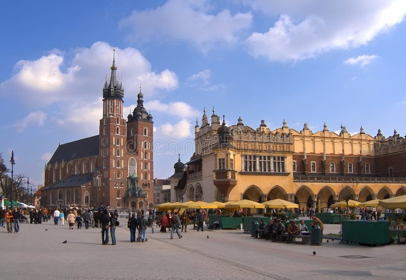 Cracovie, Pologne photo stock