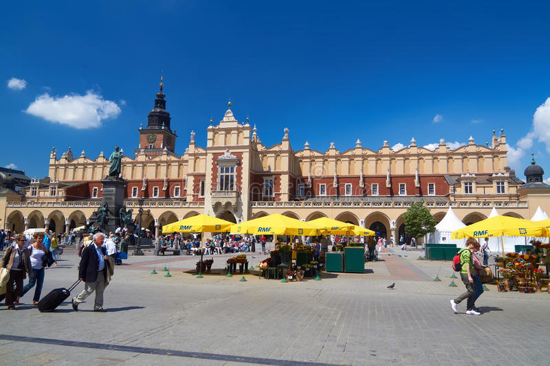 Download Cracow editorial stock image. Image of florists, poland - 20252764