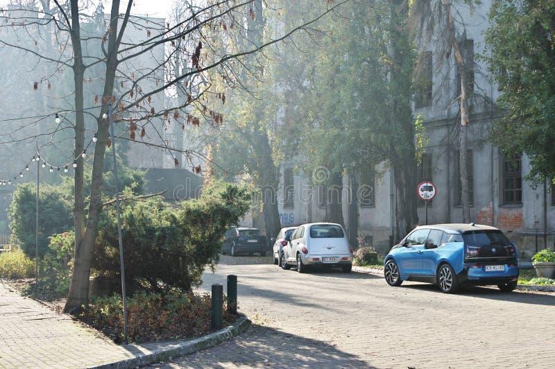 Cracow, Dolnych Mlynow стоковое фото