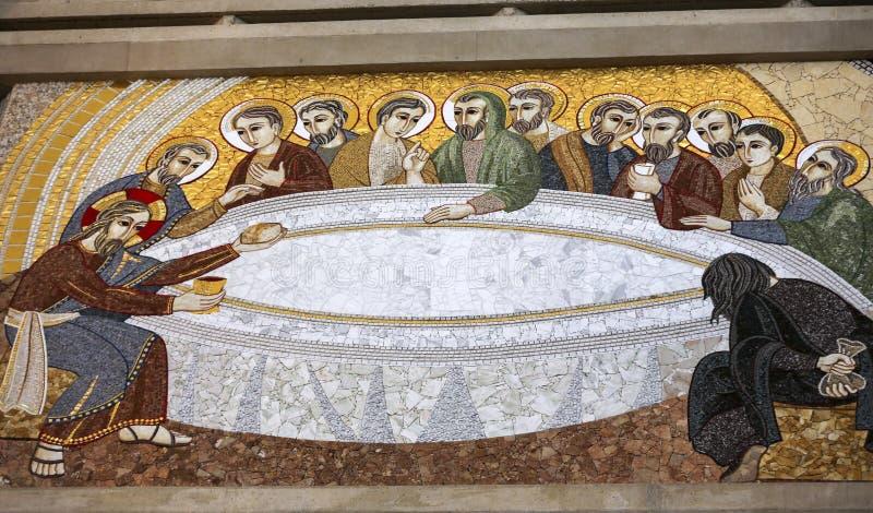 Cracow, Lagiewniki - o centro do papa John Paul II fotos de stock royalty free