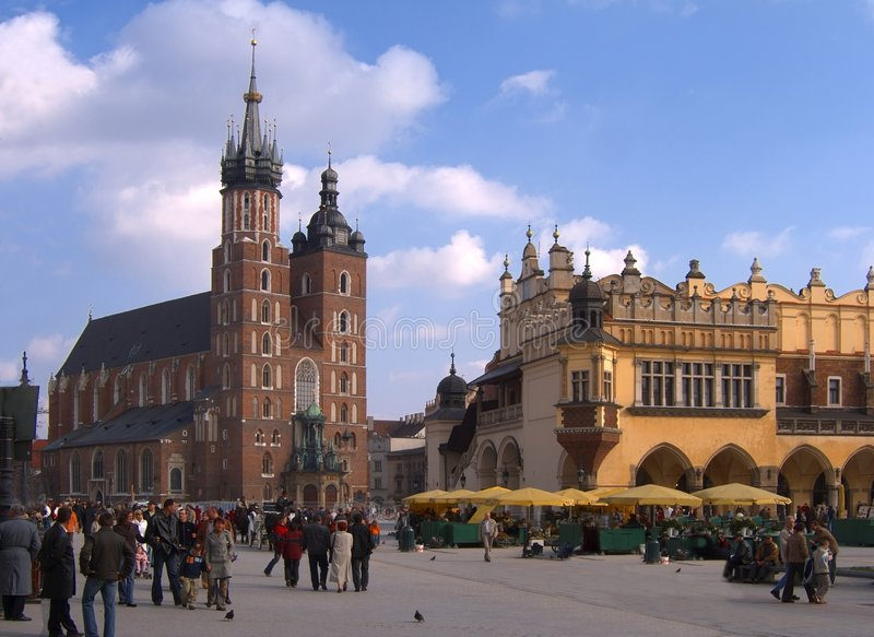 Cracow, Poland royalty free stock images