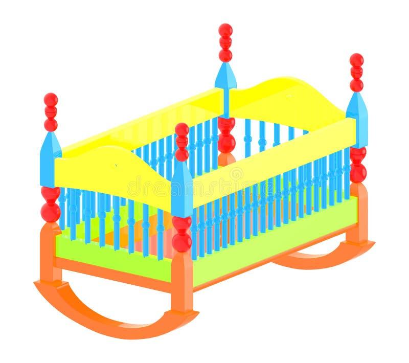 craddle 3d illustration de vecteur