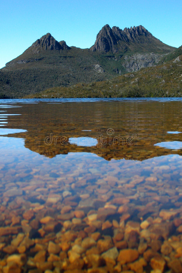 Free Cradle Mountain And Dove Lake Royalty Free Stock Image - 1403926