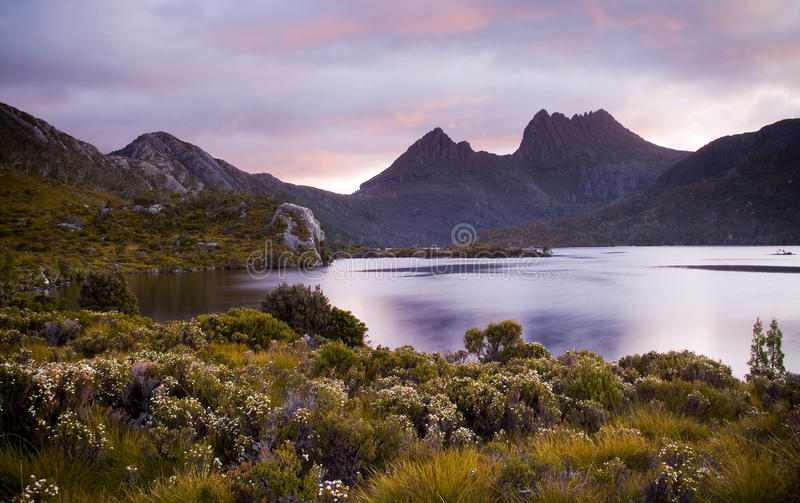 Download Cradle Mountain Australia stock image. Image of natural - 14185425