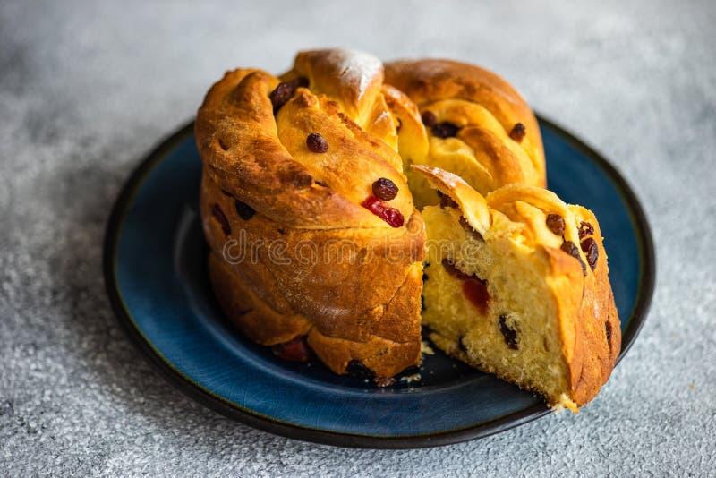Craffin торта пасхи стоковое фото