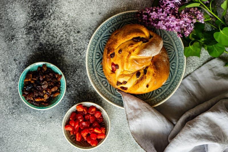 Craffin торта пасхи стоковое изображение