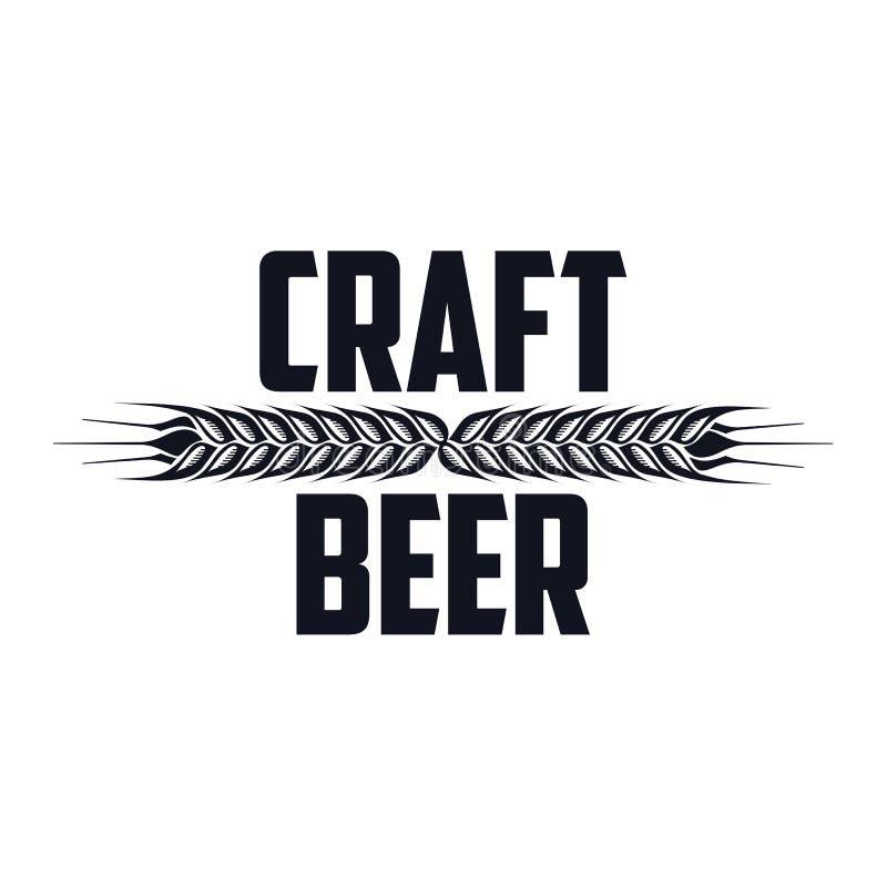 craft beer logo stock illustration illustration of brewery 84525519. Black Bedroom Furniture Sets. Home Design Ideas