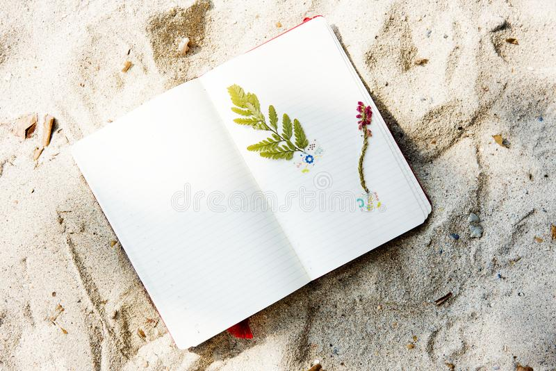 Craft, Diary, Paper stock image