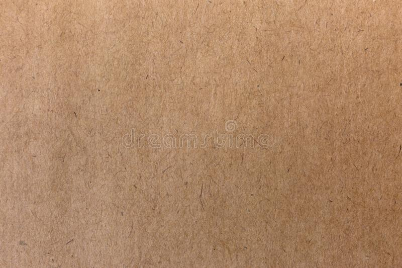 Craft old paper texture. Vintage rough background. royalty free stock image
