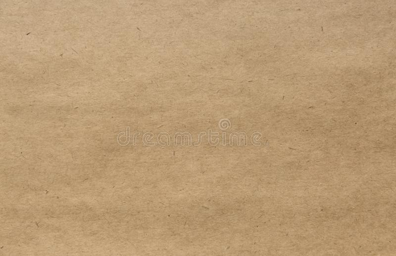 Craft paper texture. Grunge background. stock photography