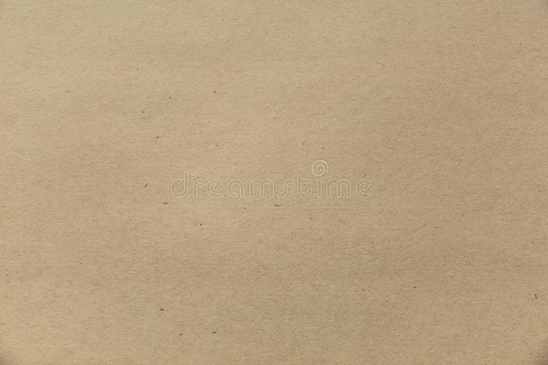 Craft paper texture. Grunge brown vintage background. stock photo