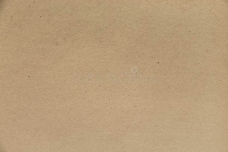 Craft paper texture. Grunge brown vintage background. royalty free stock image