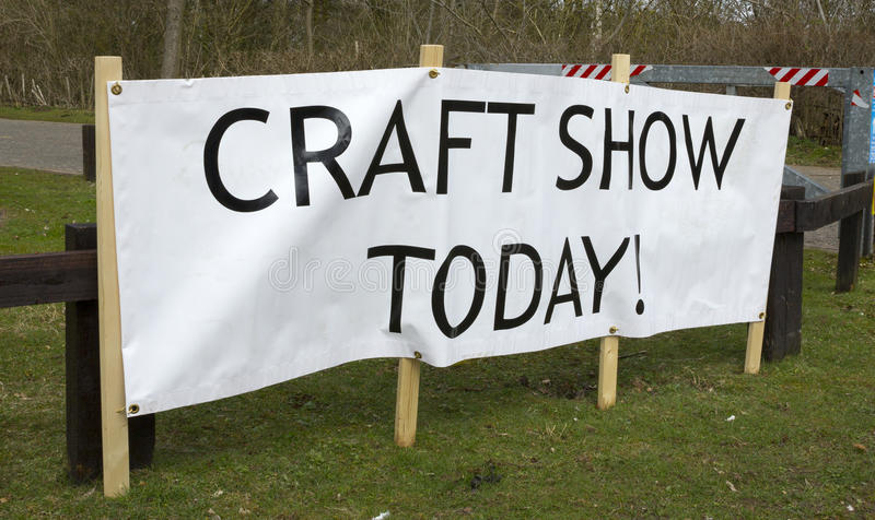 Download Craft Show stock photo. Image of banner, outside, information - 30681626