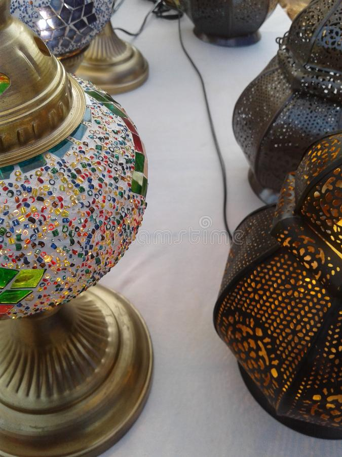 Craft work made in India. Traditional royalty free stock images