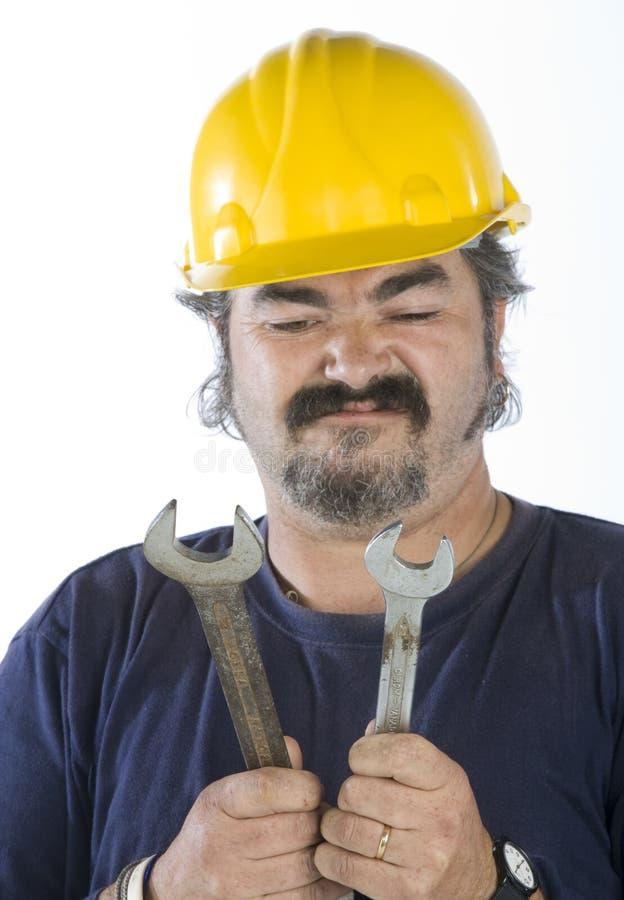 Download Craftman сильная стоковое изображение. изображение насчитывающей усмехаться - 6865097