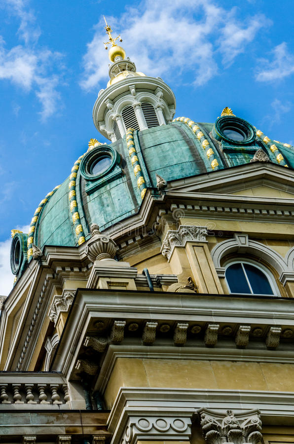 Free Craftmanship Design Of The Des Moines Iowa State Capitol Stock Photography - 46408762