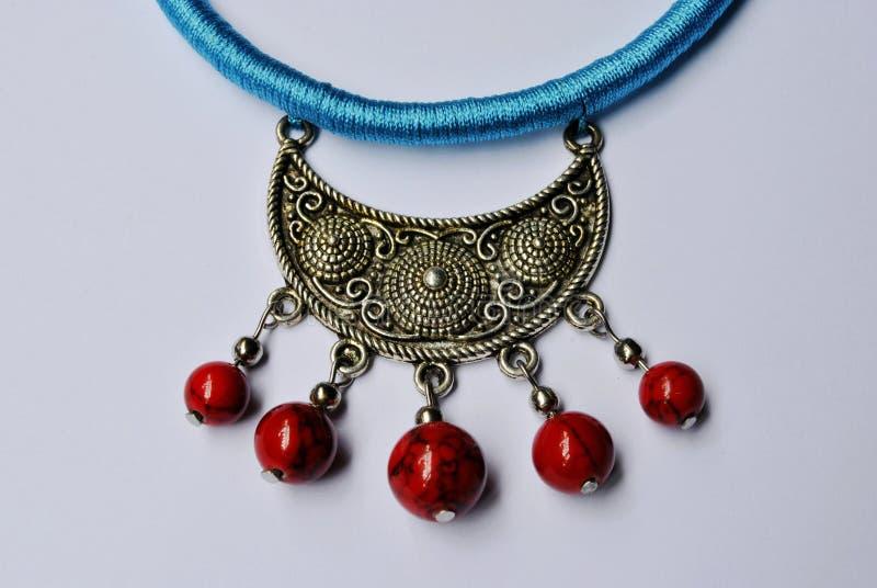 Crafts ornaments beads ornaments minorities stock photo
