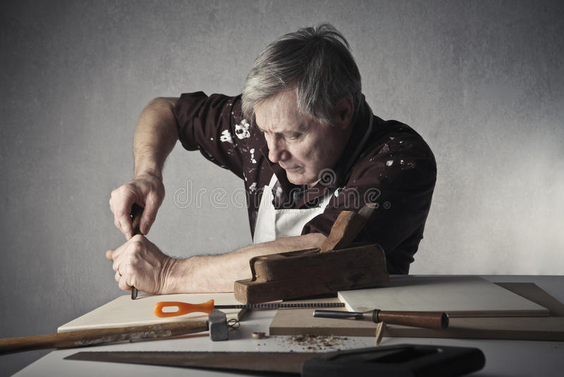Craftsman royalty free stock photography