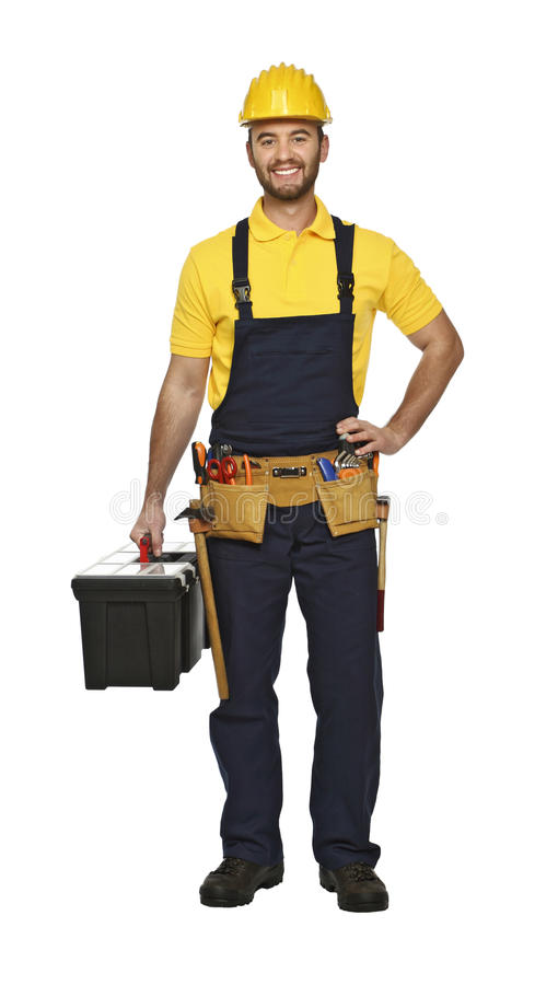 Download Craftsman ready for work stock photo. Image of work, service - 12131604