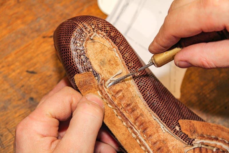Craftsmanship Holenderska szewc fotografia stock