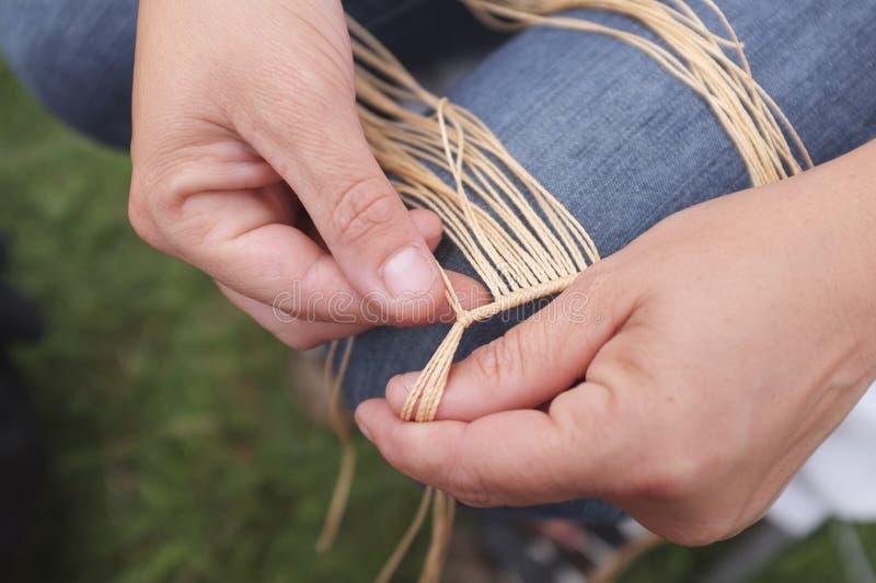 craftswoman immagine stock
