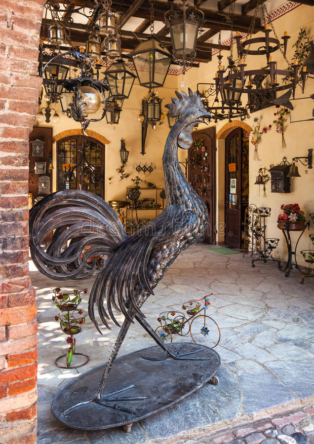 Craftwork and souvenir. Italy - July 18, 2016: Craftwork and souvenir stock photography