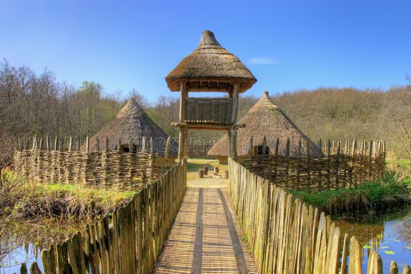 Download The Craggaunowen Settlement  In Ireland. Stock Photo - Image of landscape, cottage: 24184318