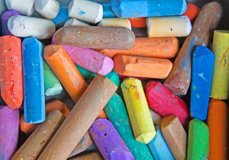 Craie colorée image stock