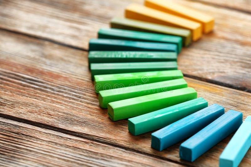Craie vert clair image stock