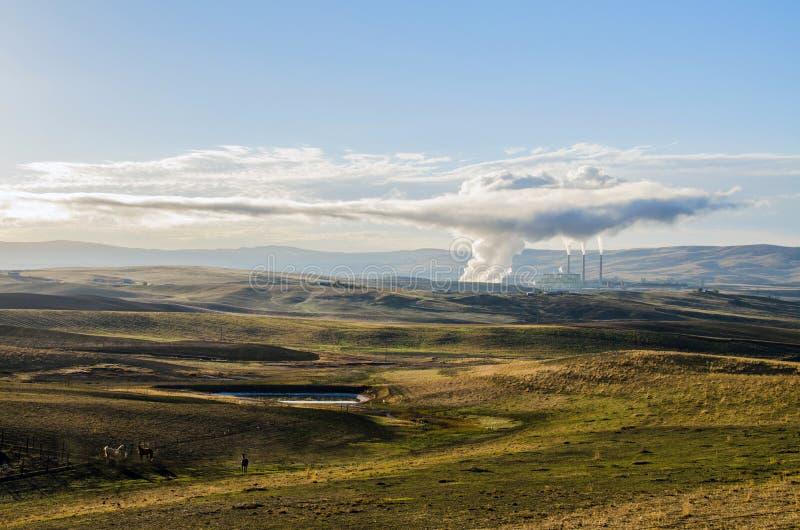 Craig Power Station stock foto's
