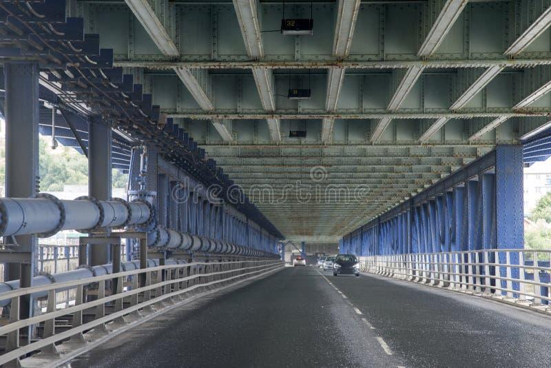 Craigavon Bridge, Derry - Londonderry, Northern Ireland. UK royalty free stock images