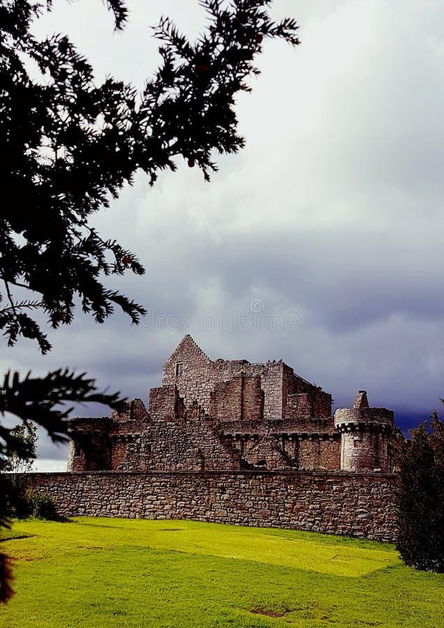 Craigmillar-Schloss stockfotos